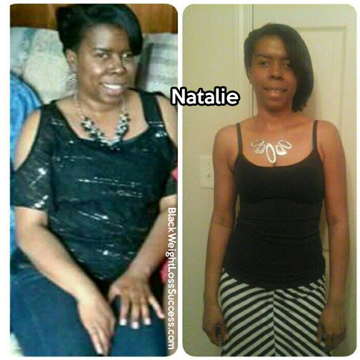 natalie before and after