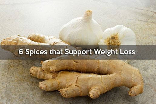 6 spices for weight loss