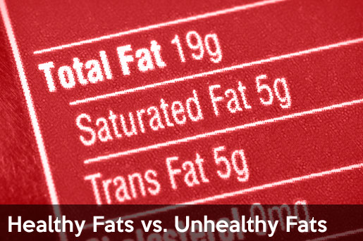 healthy fats vs unhealthy fats