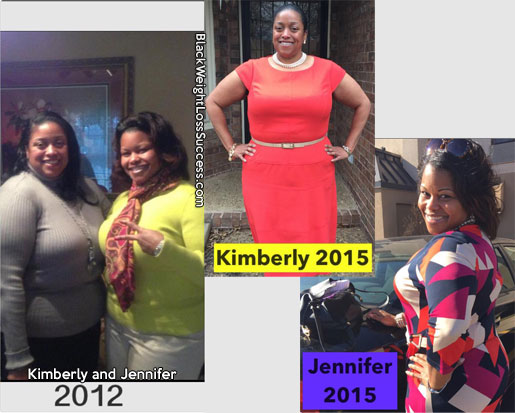 Kim and Jennifer weight loss