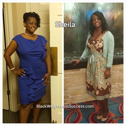 sheila weight loss