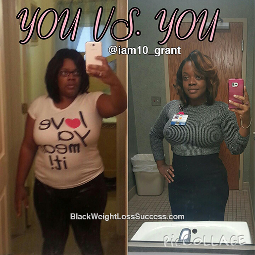 tenesha before and after
