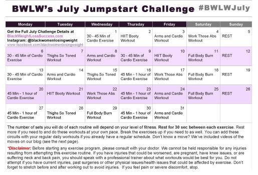July 2015 Challenge Calendarblog