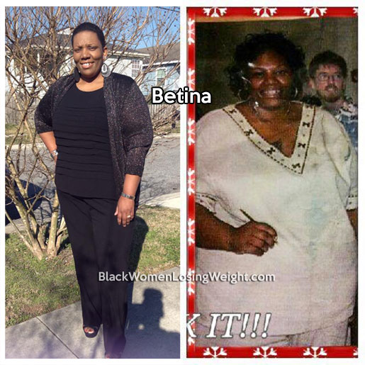 betina before and after