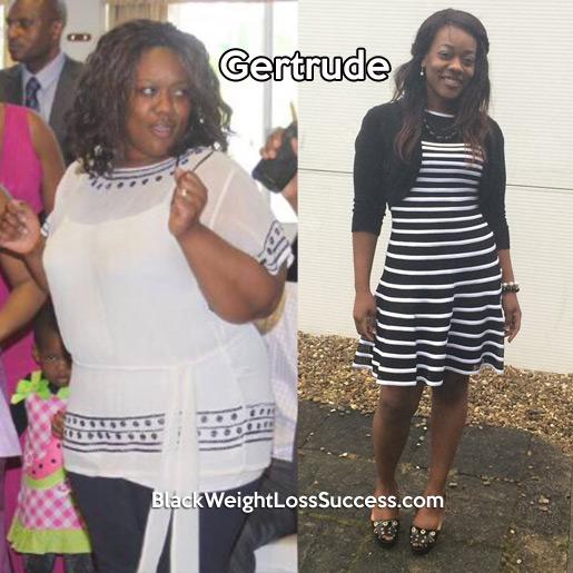 gertrude weight loss