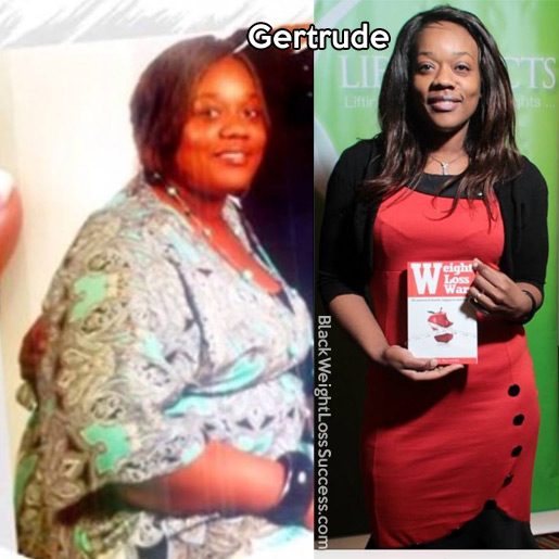 gertrude before and after