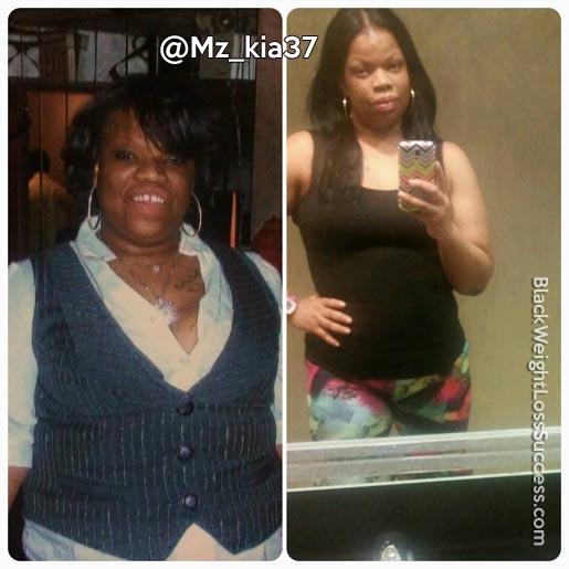nakia weight loss