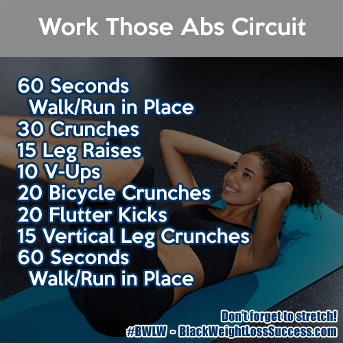 work those abs workout