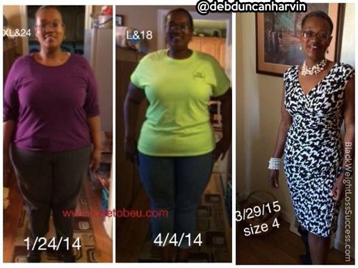 Deborah weight loss