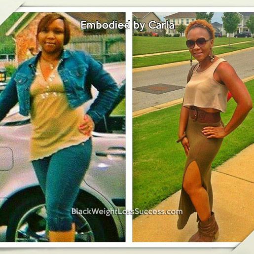carla weight loss