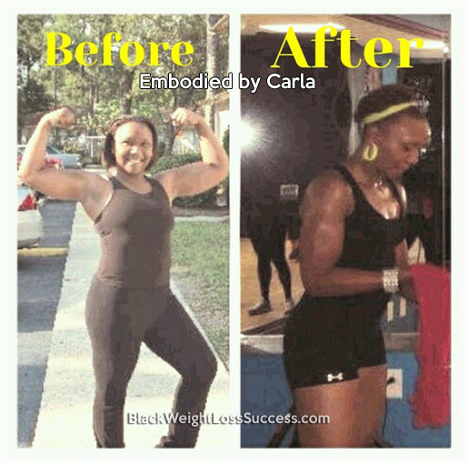 carla before and after