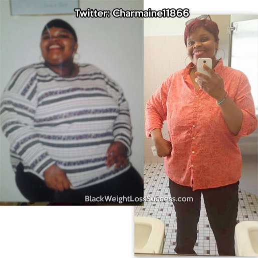 charmaine weight loss