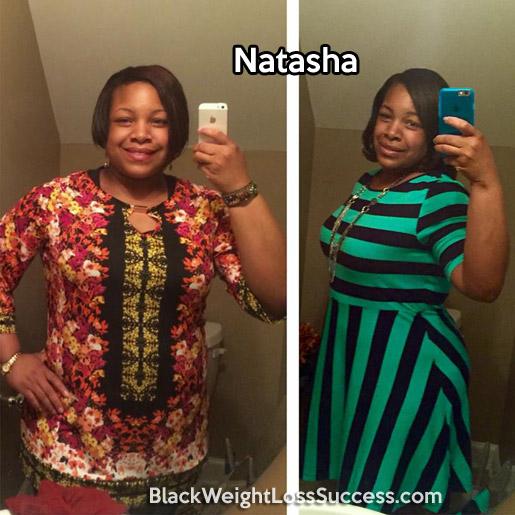 natasha weight loss