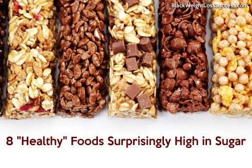 healthy food sugars
