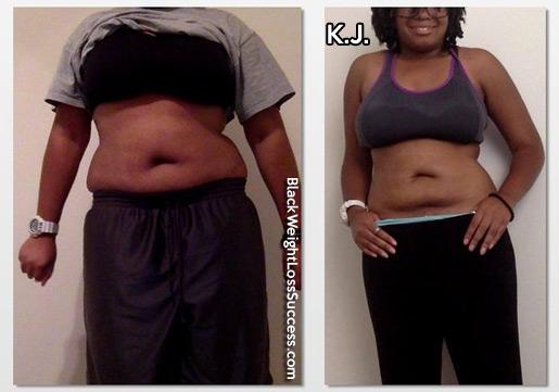 kj weight loss
