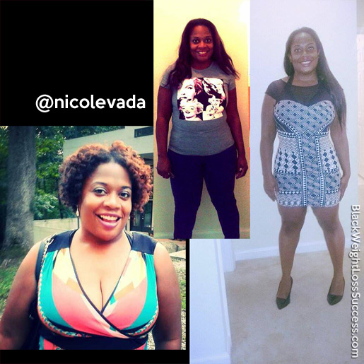 nicole weight loss
