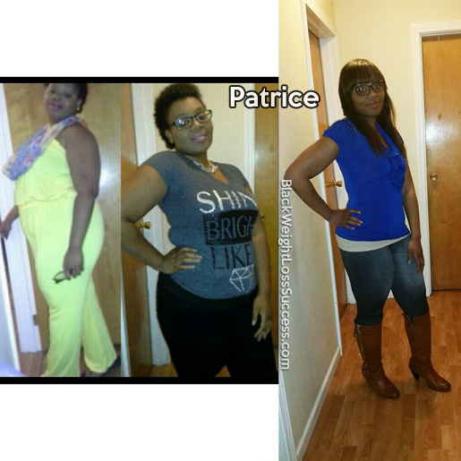 patrice before and after