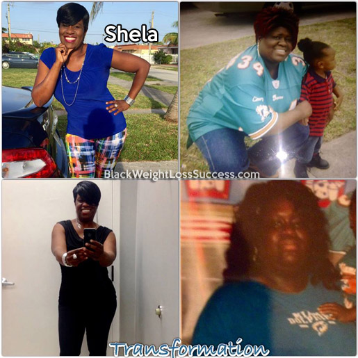 shela before and after