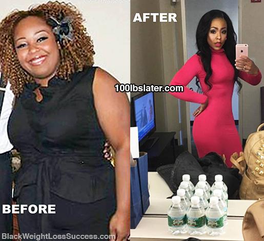 tiffany update weight loss