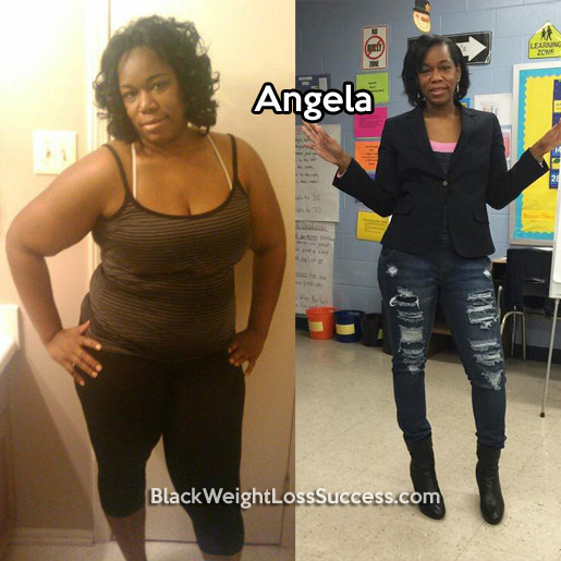 angela weight loss story