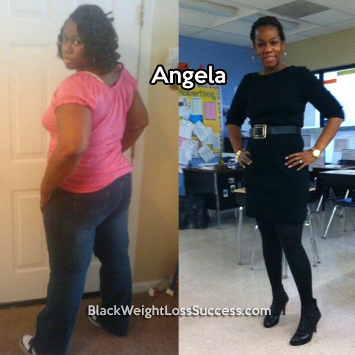 angela before and after