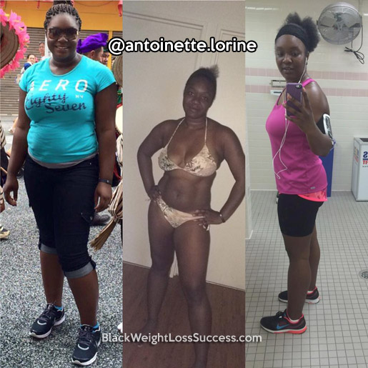 antoinette before and after
