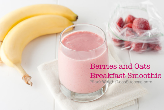 berries and oats smoothie recipe