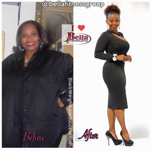 chaunda weight loss transformation