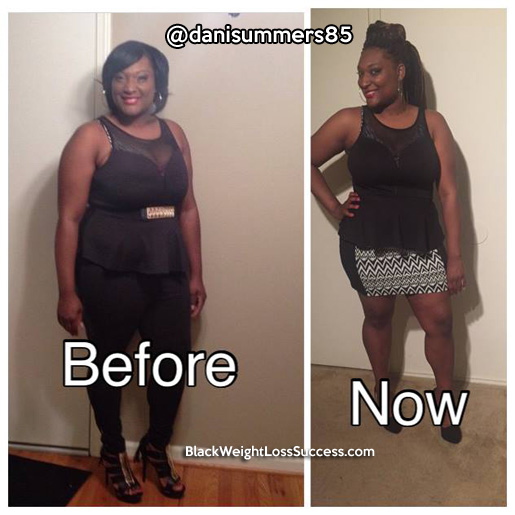danielle weight loss story