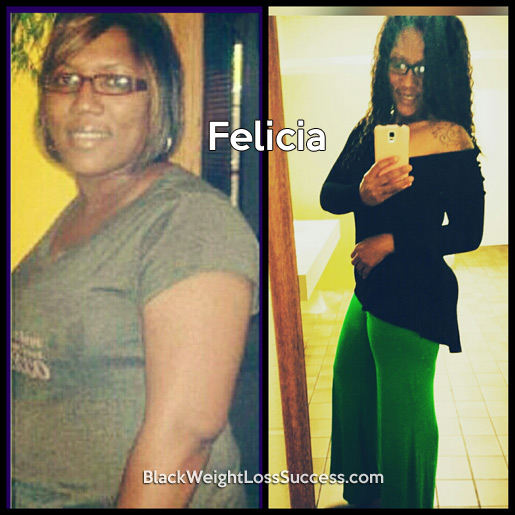 felicia before and after