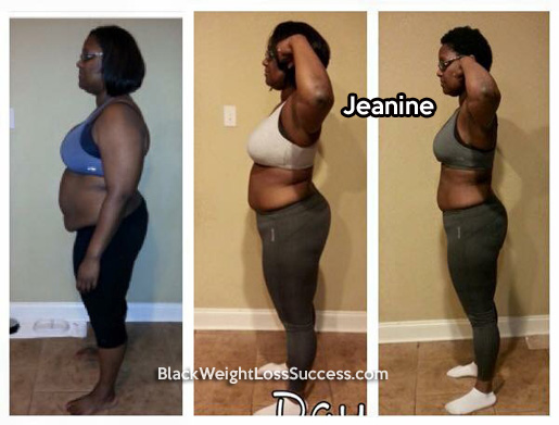 jeanine weight loss story