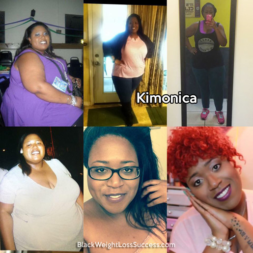 kimonica weight loss story