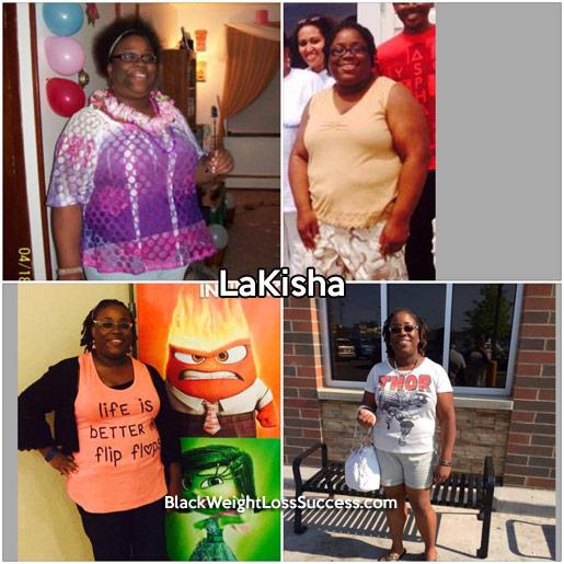lakisha weight loss story