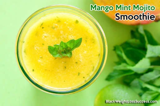 mango mint mojito smoothie