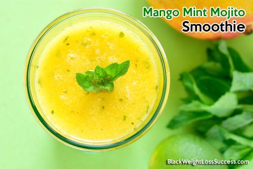 mango mint mojito smoothie