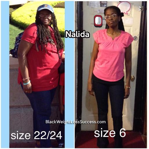 nalida weight loss story