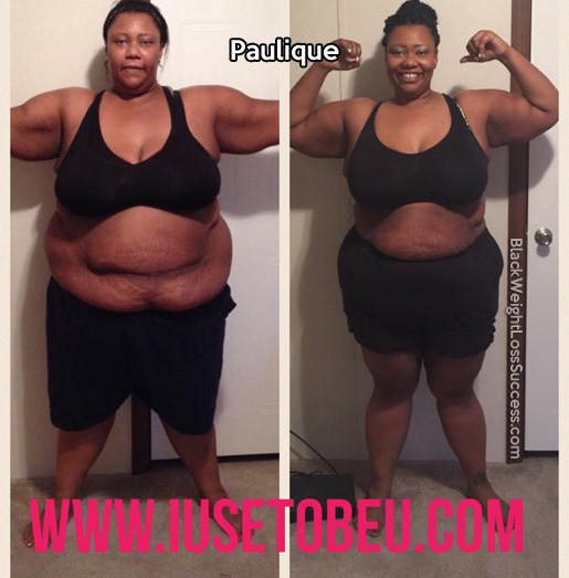 paulique weight loss story