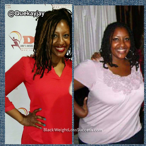 queing weight loss story