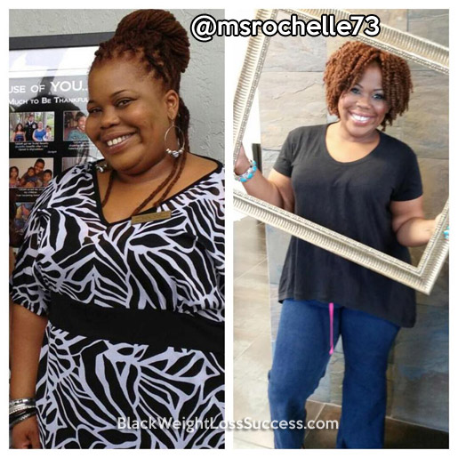 rochelle weight loss story
