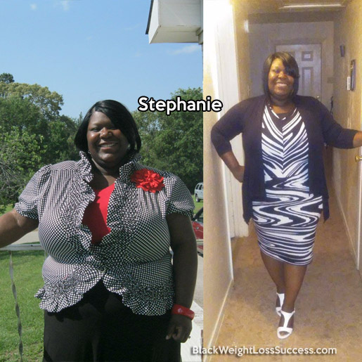 stephanie before and after