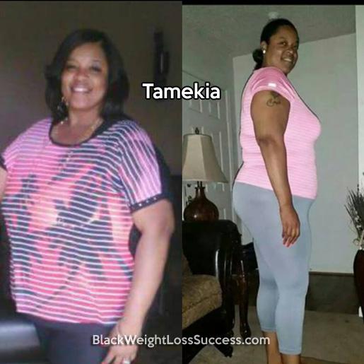 tamekia weight loss story