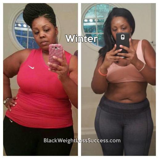 winter transformation story