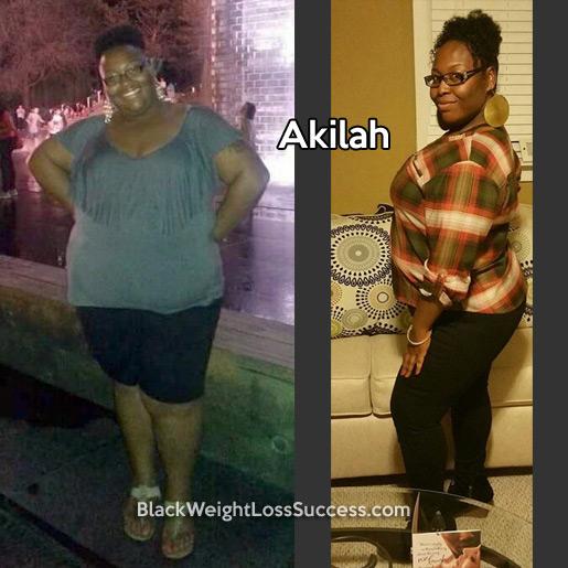 Akilah weight loss story