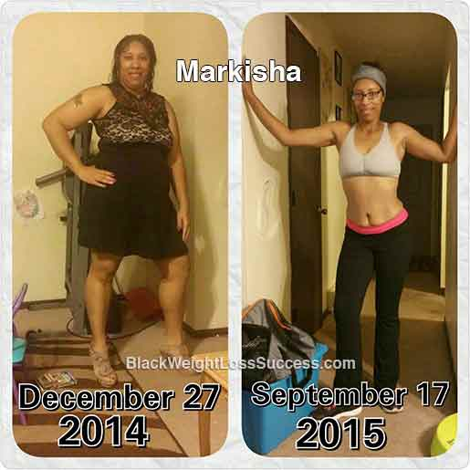 Markisha before and after