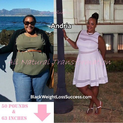 andria weight loss story