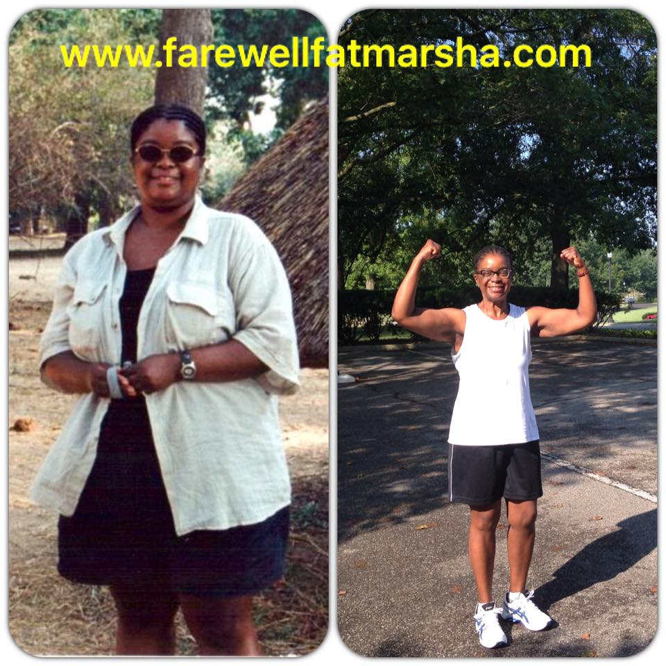 marsha lost the weight