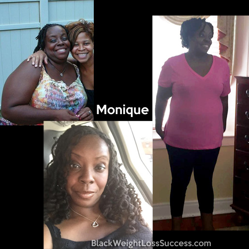 monique before and after