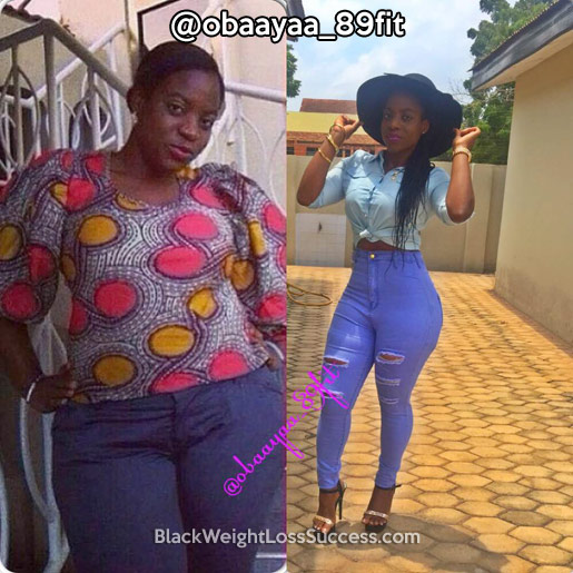 obaayaa weight loss story