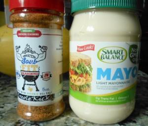 seasoning and mayo