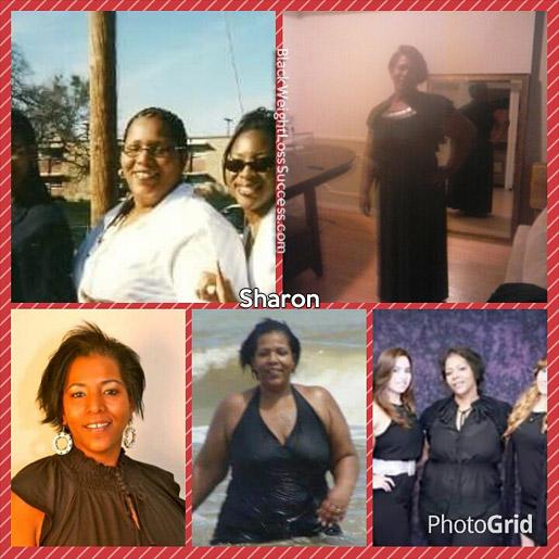 sharon weight loss story